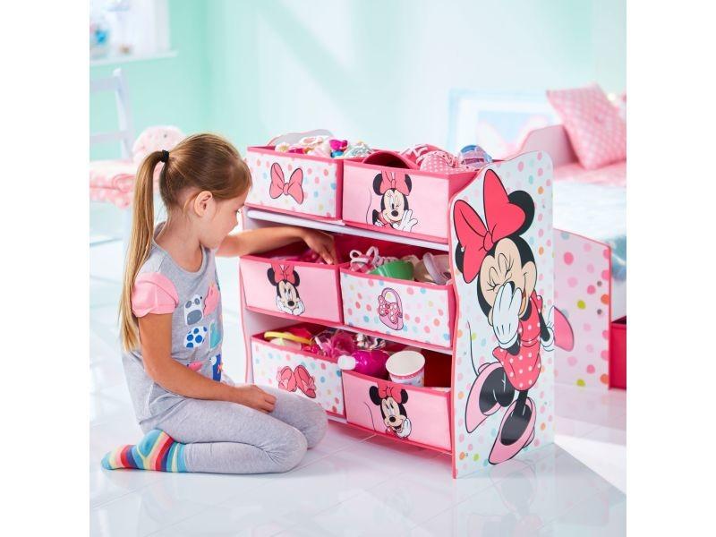 Minnie meuble de rangement pour chambre d\'enfant avec 6 bacs ...