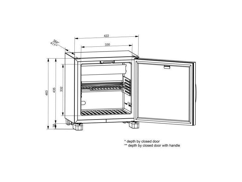 Réfrigérateur Mini Bar Mise à Température De Bouteille