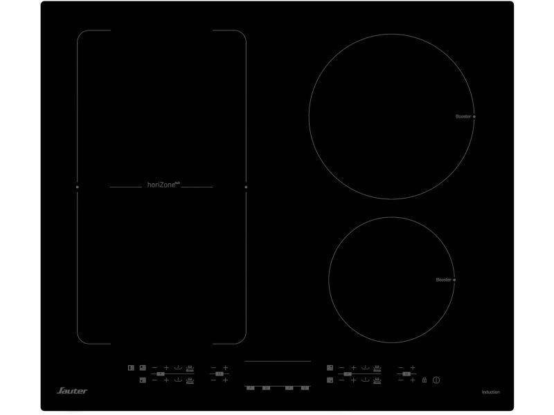 Plaque induction sauter 7200w 60cm, spi 1106 b
