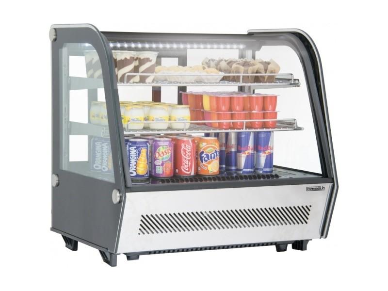 Vitrine réfrigérée à poser 120l cvr120l CVR120L