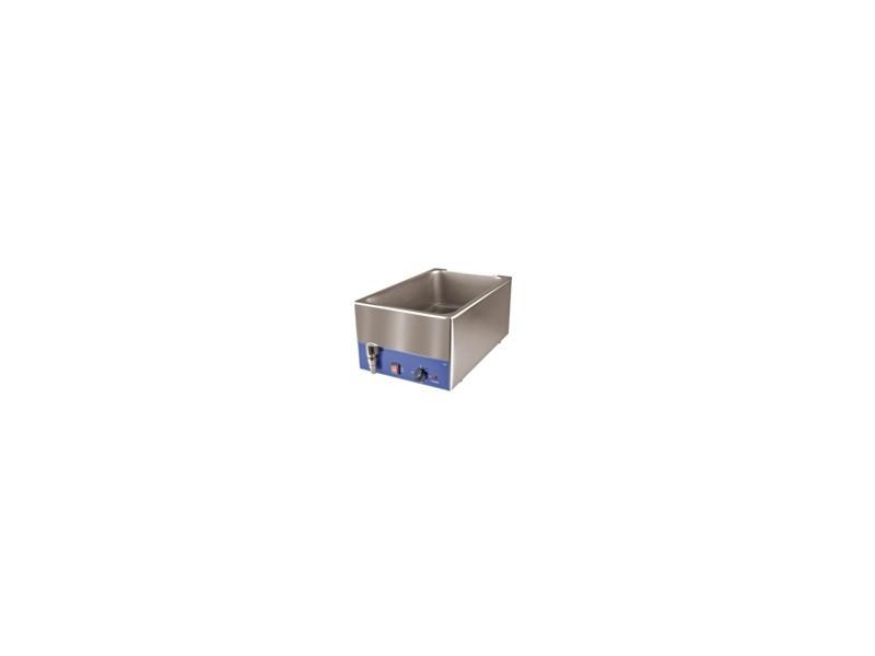 Bain marie inox gn1/1 pour bac p-150 mm avec