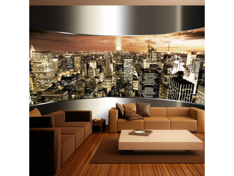 Papier peint panorama de new york A1-XXLNEW010904