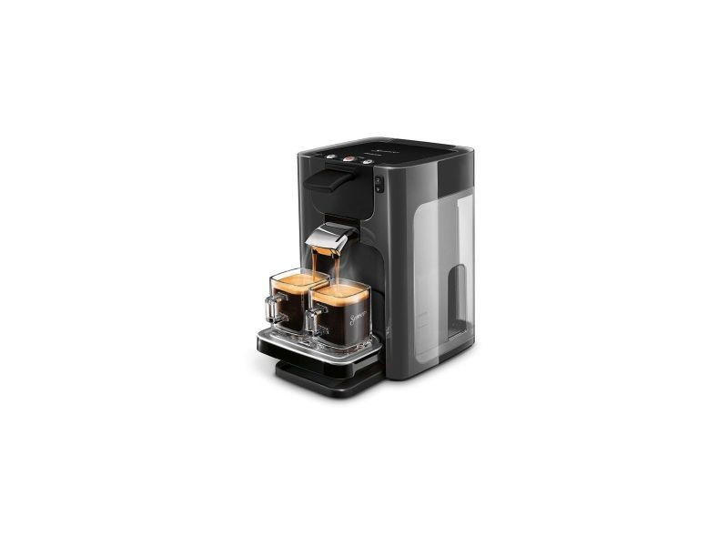 Senseo machine a cafe a dosettes quadrante 1ou2 tasses selecteur intensite