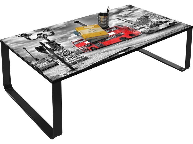 Table Basse Decorative 105 Cm London Vintage P 12261 Co Vintagesa