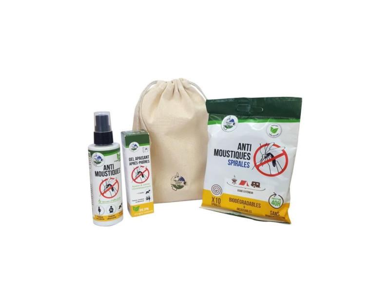Kit anti-moustiques n°2 - spirales, spray 100 ml & gel apaisant TER3760267061011