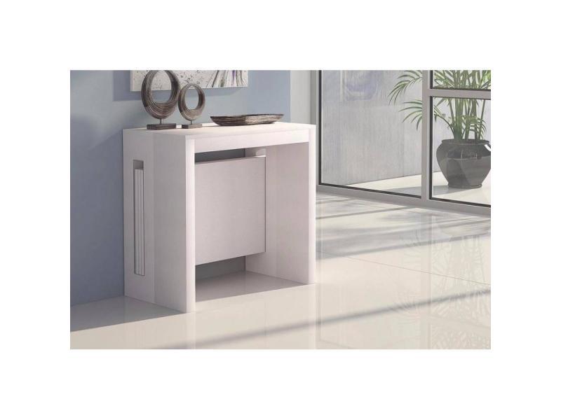 console extensible grandezza blanche 20100850762 vente. Black Bedroom Furniture Sets. Home Design Ideas