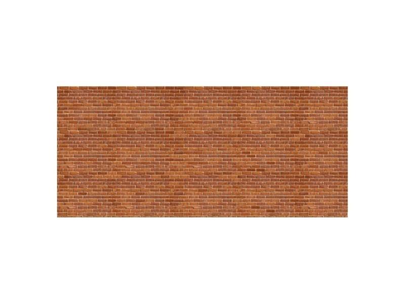 Papier peint rouges briques 600 x 270 cm - tapisserie murale panoramique xxl