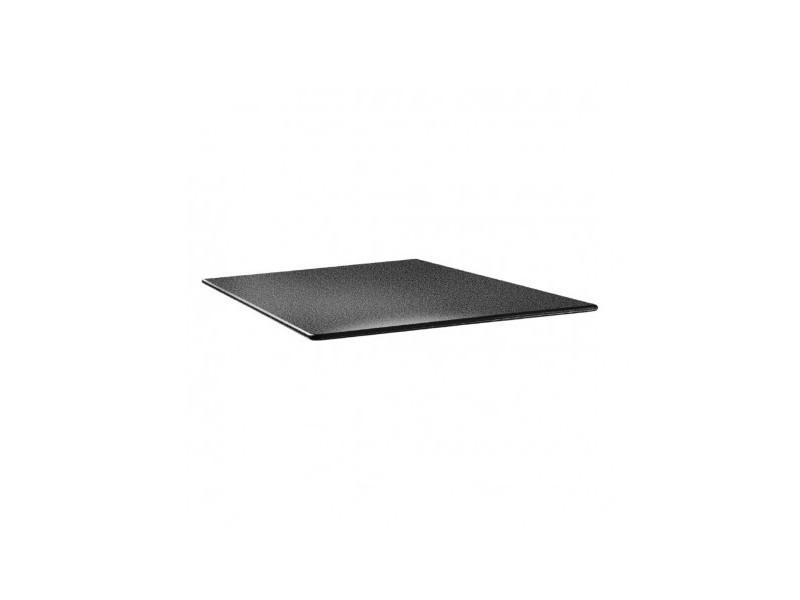 Plateau de table carré anthracite -70 cm - smartline anthracite