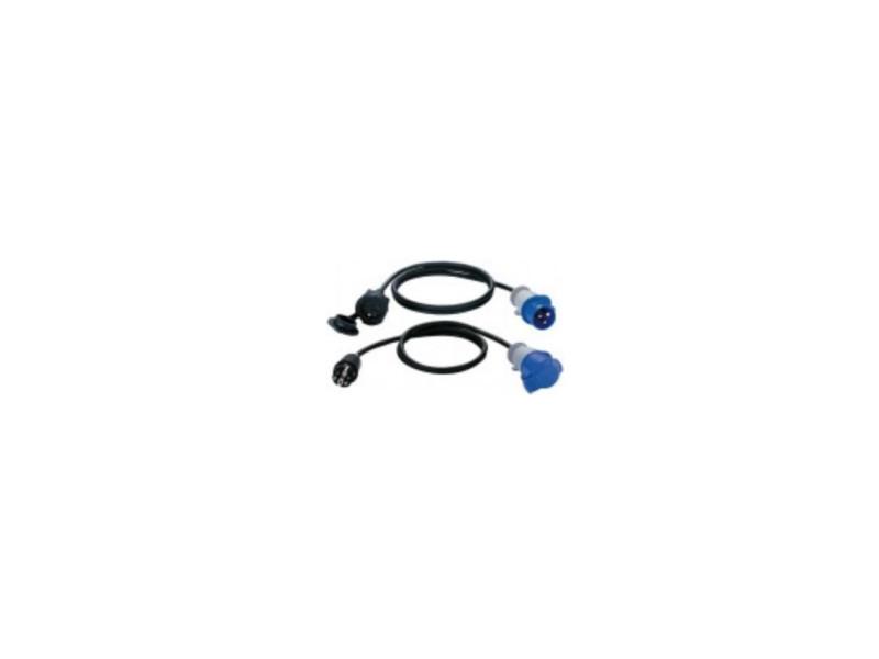 Adaptateur 1,5m h07rn-f 3g1.5 fiche p17 prolongateur 2p+t 16a/230v BRE3281851329114