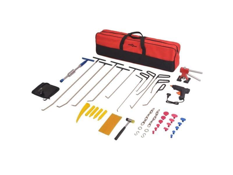 Inedit equipement et outils de garage ligne vilnius kit de débosselage sans peinture pdr 50 pcs acier inoxydable