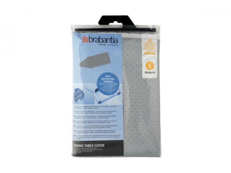 Brabantia housse e silicone mousse gris