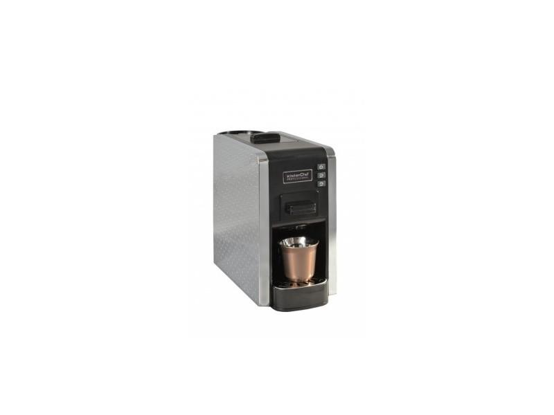 Cafetière expresso multi capsules et café en poudre kitchen cc