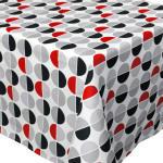 Nappe rectangle 150x300 cm imprimée 100% polyester smile