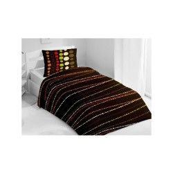 plaid et couverture marron conforama. Black Bedroom Furniture Sets. Home Design Ideas