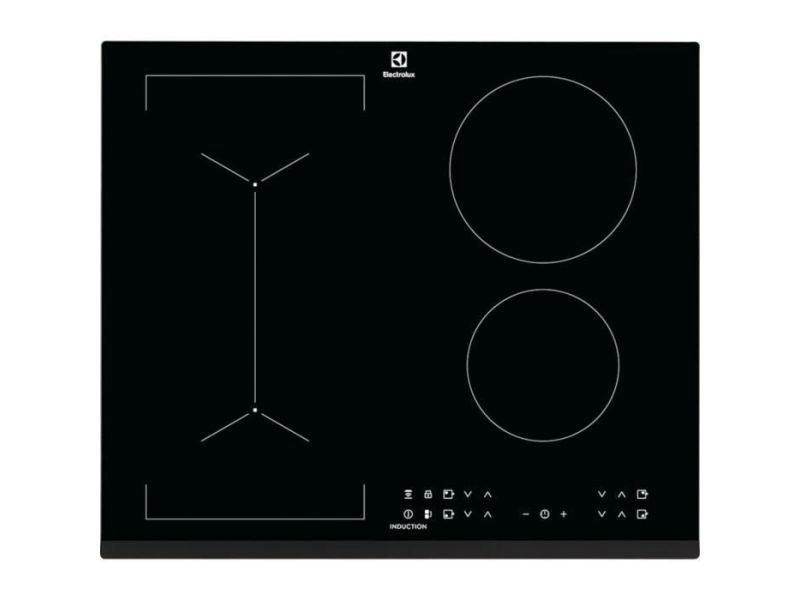 Electrolux liv6343 - table de cuisson - 4 foyers - 7350w - revetement verre - noir ELELIV6343