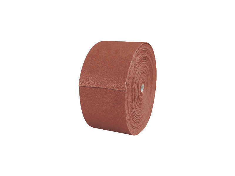 Rouleau de papier abrasif pour ponçage manuel 50m x 115mm grain de 40 à 240 120