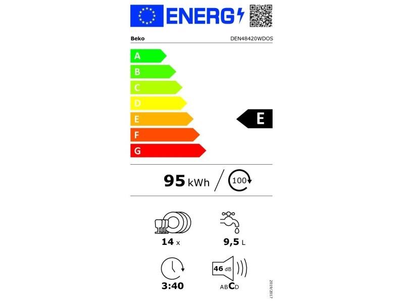 lave vaisselle beko den 48420 wdos vente de lave vaisselle encastrable conforama
