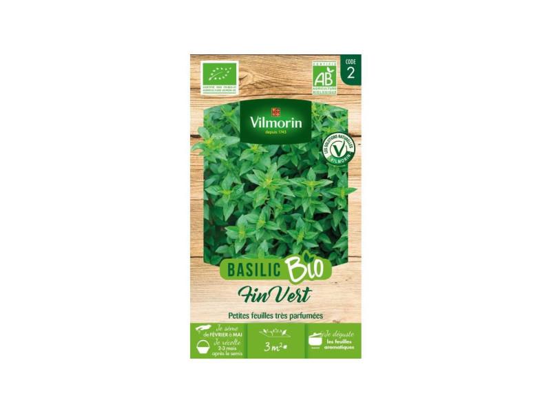 Basilic fin vert bio VIL3182675872148