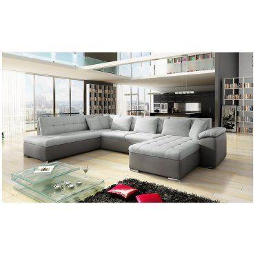 canap d 39 angle convertible en u alta iii vente de canap d 39 angle conforama. Black Bedroom Furniture Sets. Home Design Ideas