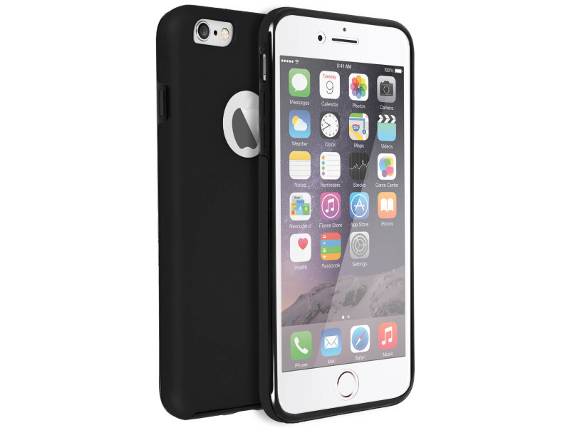 Coque iphone 6, iphone 6s protection silicone + arrière