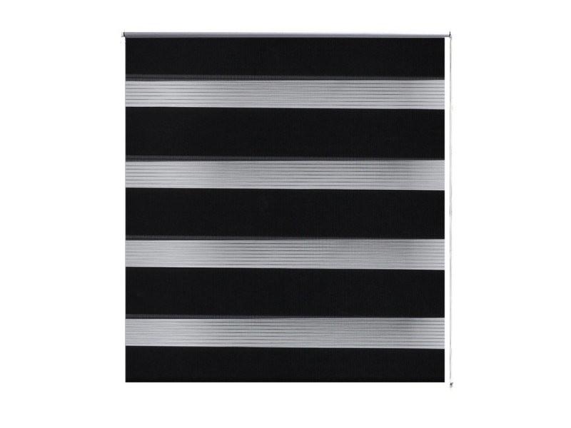 Store enrouleur noir tamisant 60 x 120 cm fenêtre rideau pare-vue volet roulant helloshop26 4102086
