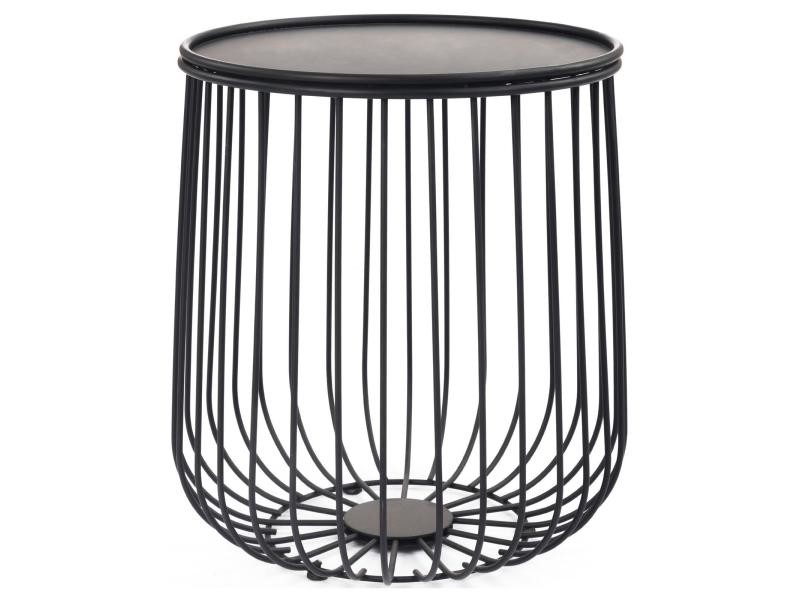 Table D Appoint Daya Table A Cafe Table Basse Ronde Bout De Canape