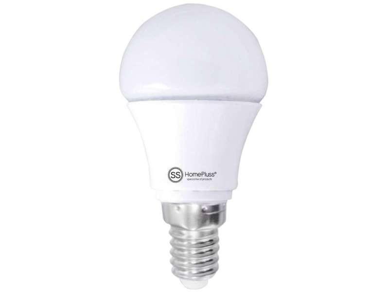 Ampoule led ronde e14 4w blanc/chaud