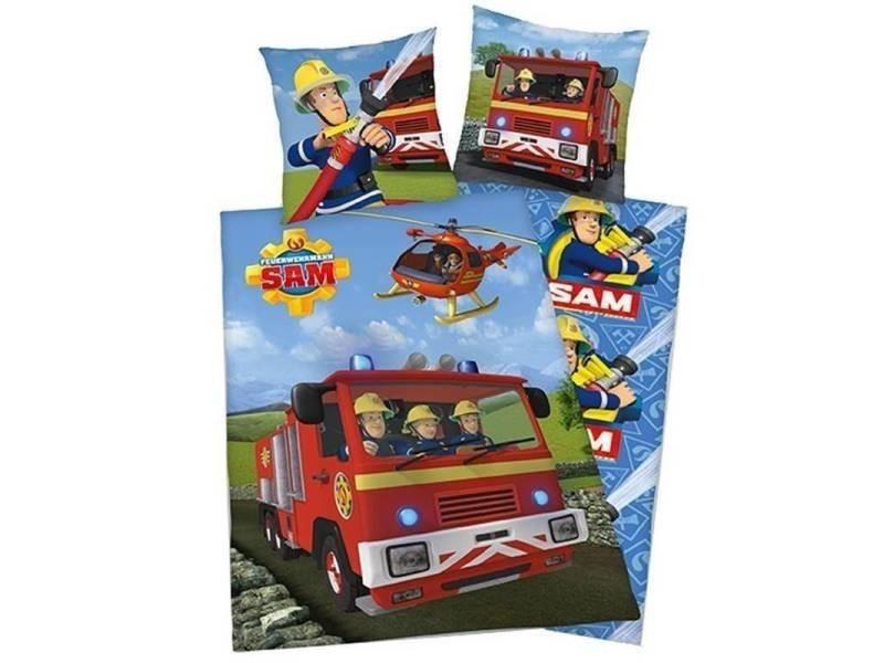 Herding sam le pompier housse de couette - 1-personne (140x200 cm + 1 taie)  SMUL105723601 - Vente de HERDING - Conforama ed498d031005