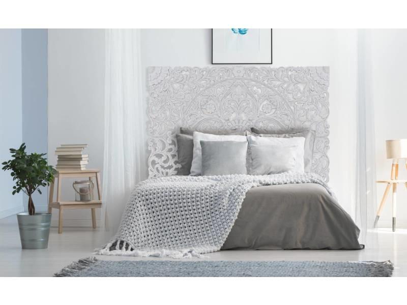 Tête de lit serena 180cm bois blanc
