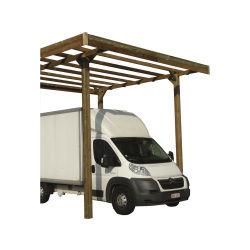 Carport base 4 x 5 - hauteur 4 m - traité autoclave