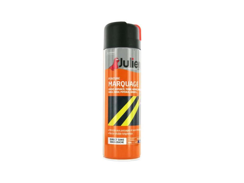 Peinture aérosol julien marquage orange fluo 500ml Julien-marquage-orange-fluo-500-ml