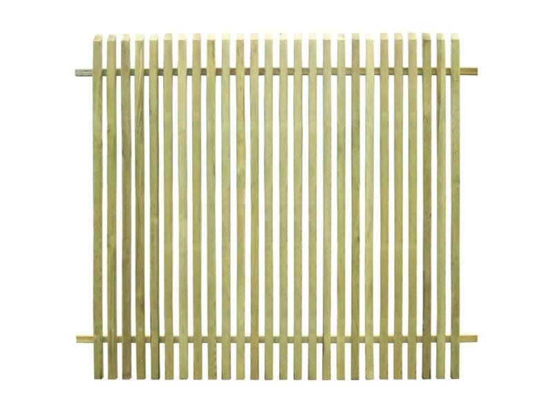 Moderne clôtures et barrières famille victoria clôture de jardin pinède imprégnée fsc 170 x 150 cm