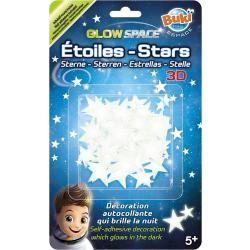 Etoiles 3d phosphorescentes