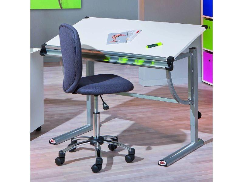 Bonnie chaise de bureau grise Vente de ALTOBUY Conforama