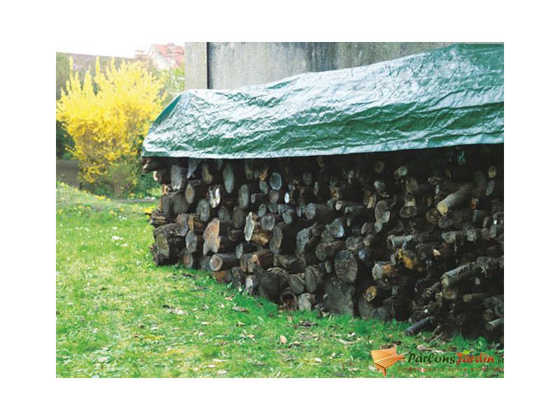 Bâche de protection spéciale bois 80gr/m² 1,6m x 6m