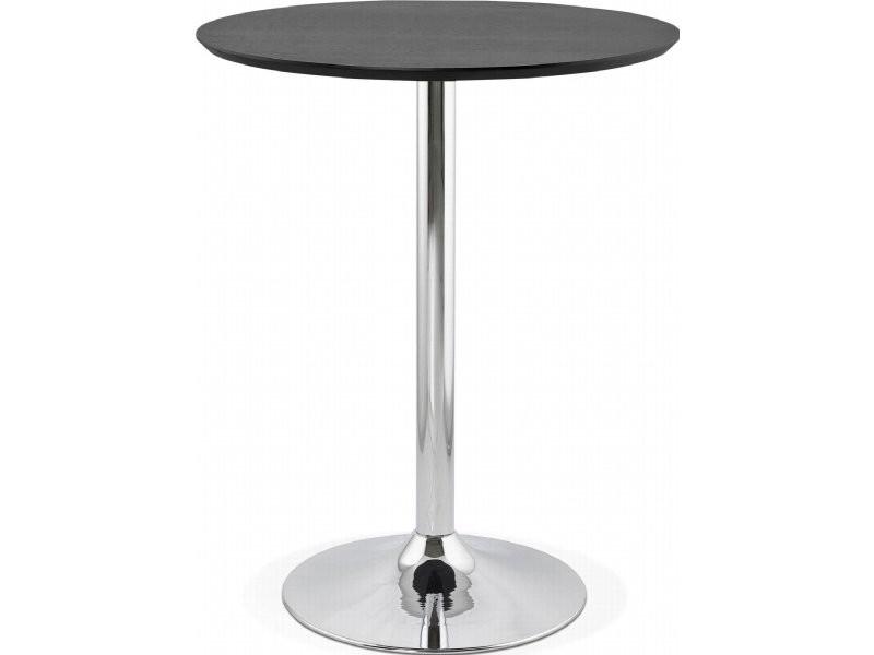 Table haute bar design ataa BT00210BL