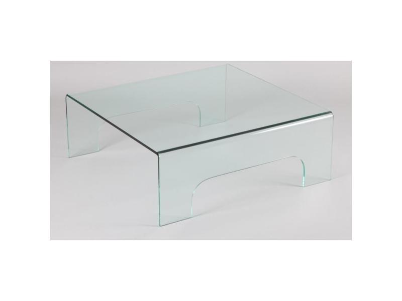 Table Basse Carre En Verre Quadrupede 20100841533 Vente De Table