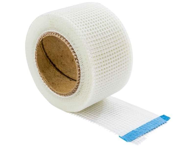 Quincaillerie bande 100% fibre de verre 48 mm x 20 m.cette bande s'utilise en complément d'un produi