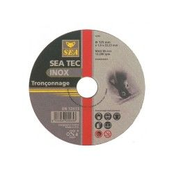 Disque à tronçonner acier / inox ø 125x1,6mm sea