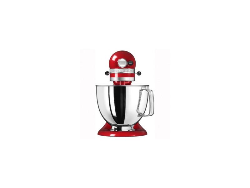 Robot pâtissier multifonction à tête inclinable 4.8 l artisan kitchenaid rouge empire CDP-5KSM175PSEER