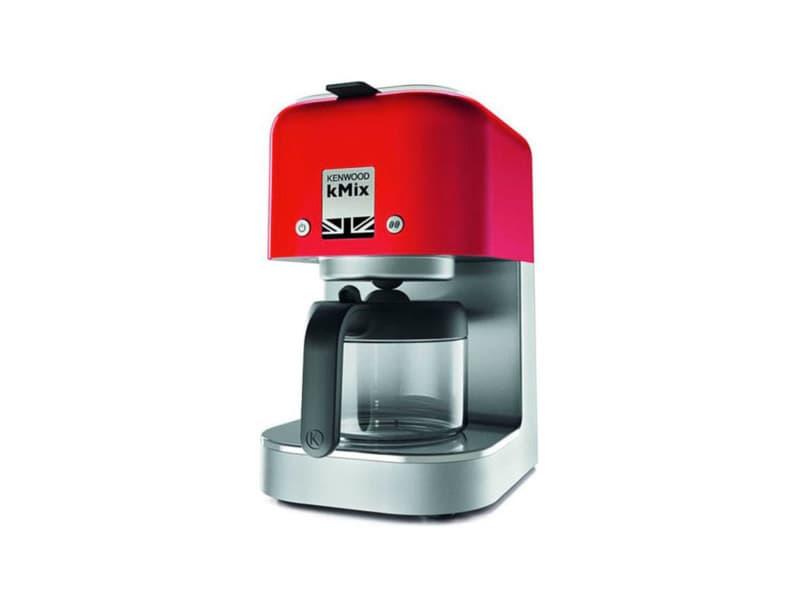 Kenwood cafetière filtre kmix rouge 1000w 6 tasses cox750rd