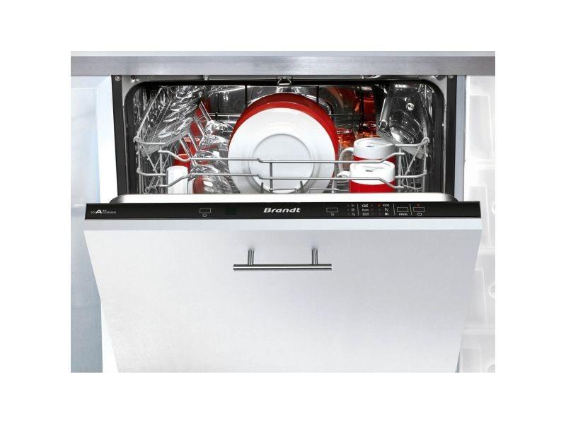 Lave-vaisselle encastrable brandt 14 couverts 60cm a++, vh 1744 j