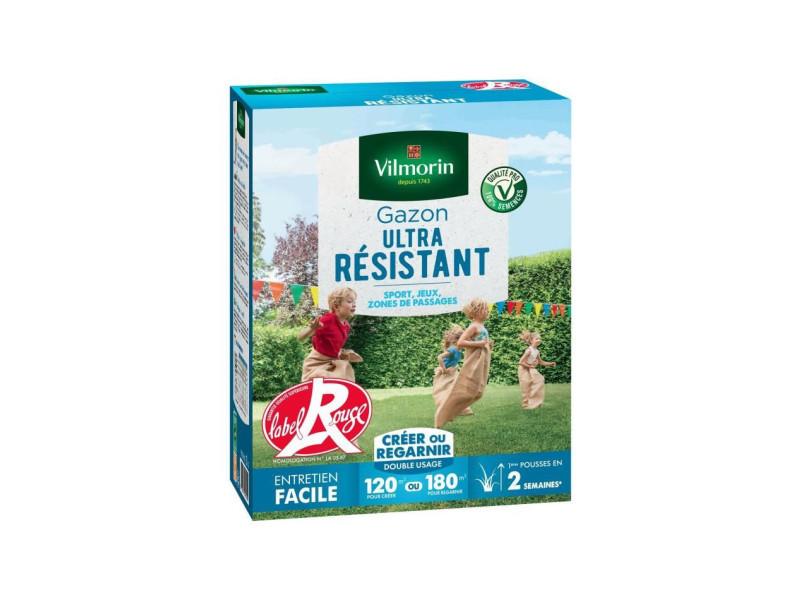 Semences de gazon ultra-résistant label rouge - 3 kg VIL3182670261497