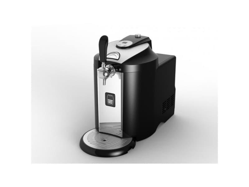 Machine a biere a compresseur 120w compatible fut presurise 5l led affi kitchenchef - kcpprobier