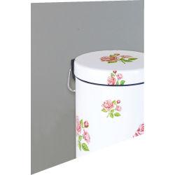 Craquez pour des poubelles de salle de bain color es et motifs - Poubelle salle de bain rose ...