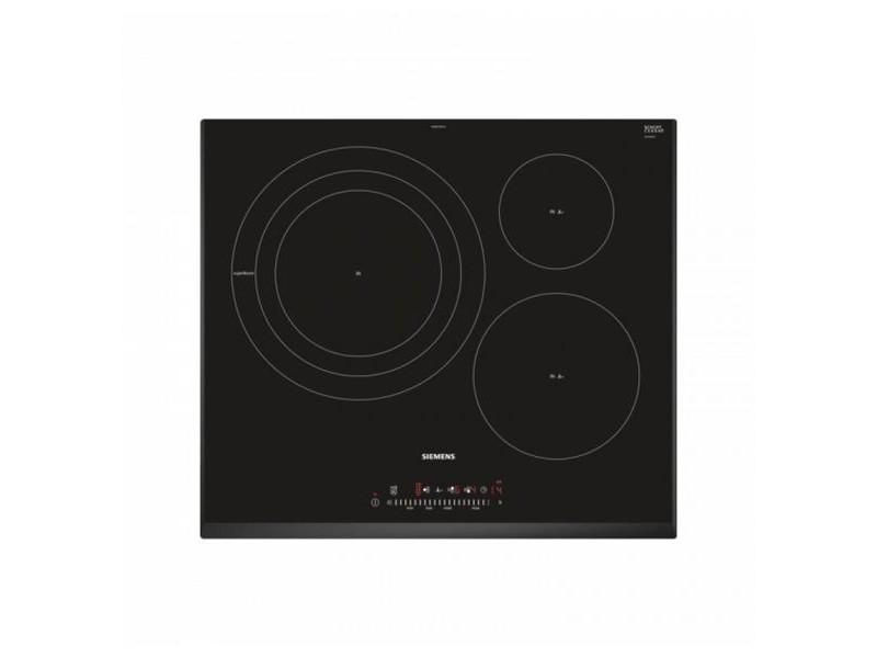 Plaque à induction à 3 zones de cuisson 60 cm 7400w noir - plaque de cuisson haut de gamme