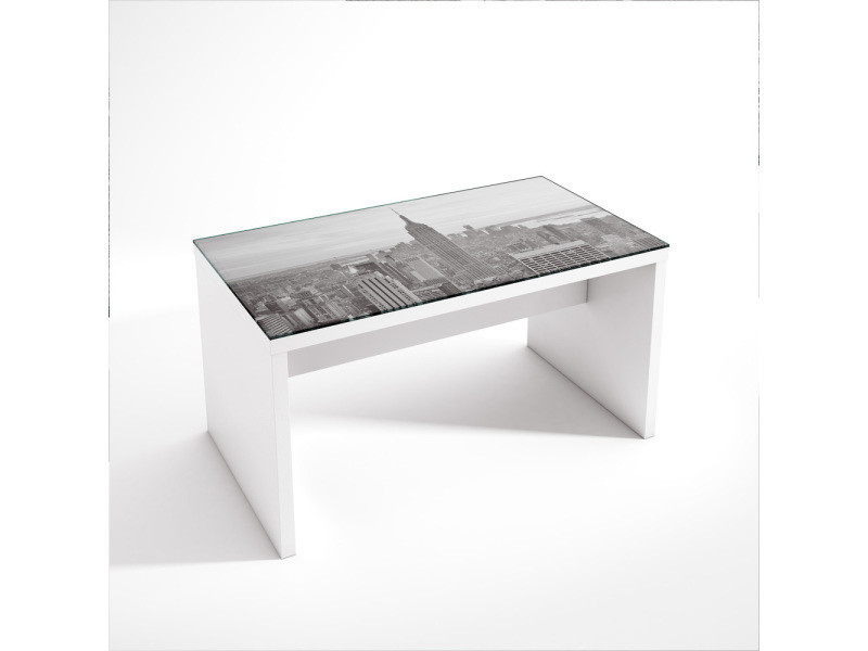 Table Basse Design Empire Ny Dimensions 90 X 50 Cm Pegane
