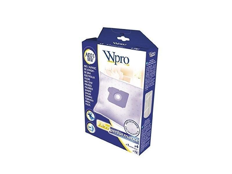 Wpro sac d'aspirateur en micro-fibres hoover ho100-mw