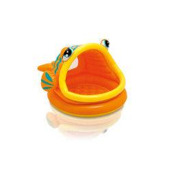 Piscine pour enfants poisson avec pare-soleil