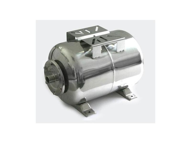 Réservoir à vessie p.la surpression domestique cuve ballon 100 litres inox helloshop26 3416123